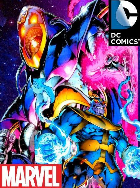 Thanos Vs Anti Monitor