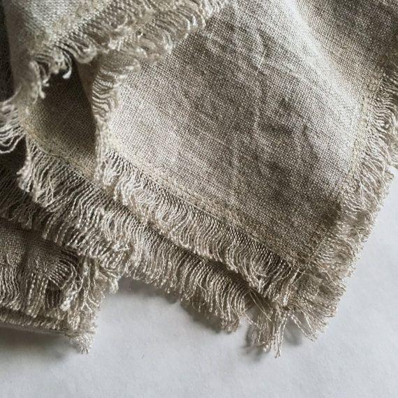servilletas de lino juego de 2