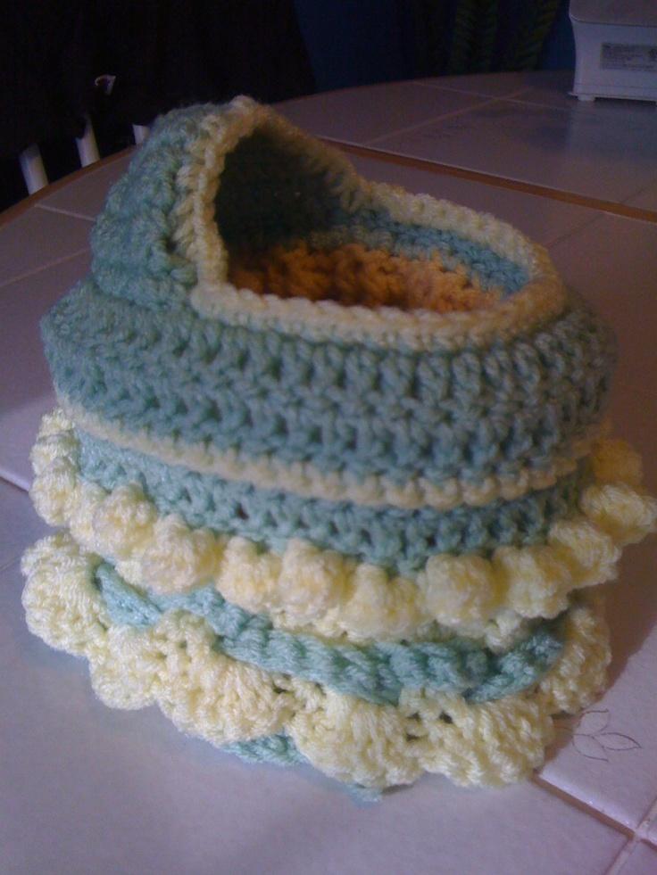 Crochet Bag Pattern Cotton : 81 best images about Dolls cradles on Pinterest Purse ...