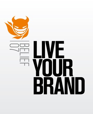 Live your brand