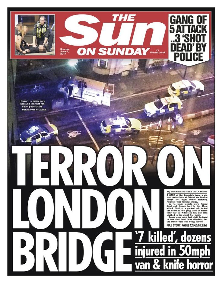 Another islamic attack in London, 7 killed, many injured - 3 islamists mowed people down on London Bridge, then ran to a market and knifed people - all lives changed in 8 minutes. World War outside your door. (6/3/17)