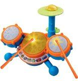 VTech KidiBeats Kids Drum Set - http://shopattonys.com/vtech-kidibeats-kids-drum-set-2/