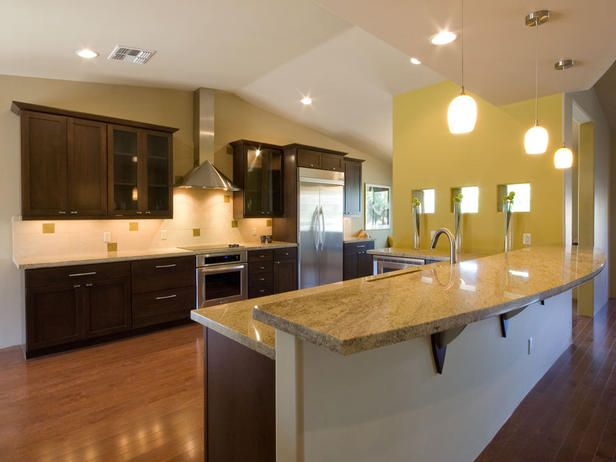 KITCHEN LAYOUT BASED ON CONTEMPORARY ELEMENTS