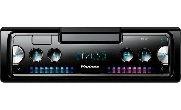 Pioneer Sph 10bt Digital Media Receiver Does Not Play Cds At Crutchfield Car Radio Pioneer Car Stereo Car Stereo