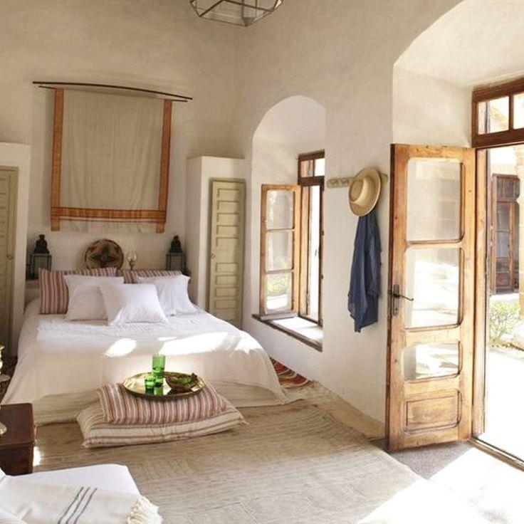 Rustic bedroom.