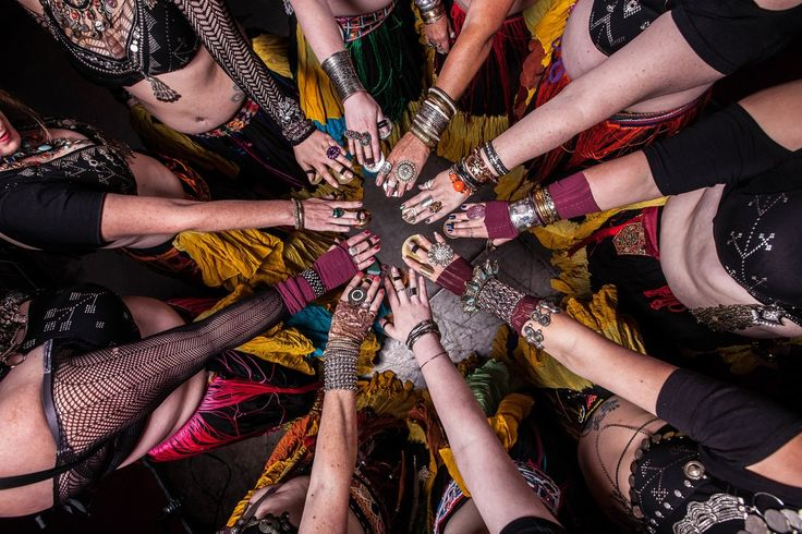 American Tribal Style Belly Dance with TribalDiva Belly Dance Company