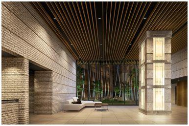ガーデンヒルズ四ツ谷 迎賓の森 エントランスホール