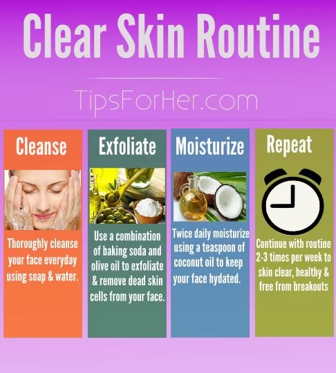 Simple routine to keep your skin clear, hydrated and help ...