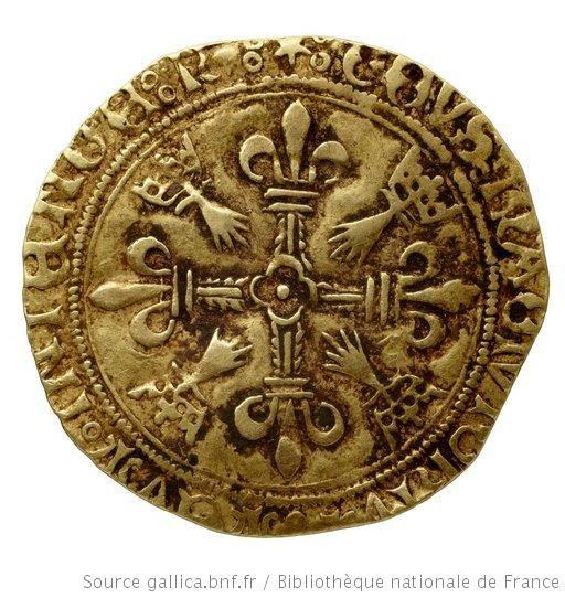 Monnaies royales françaises. Louis XII, revers