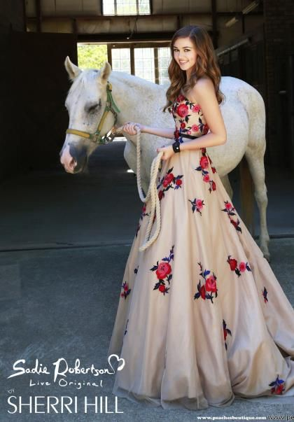 Sherri Hill Prom Dress 21340 at Peaches Boutique