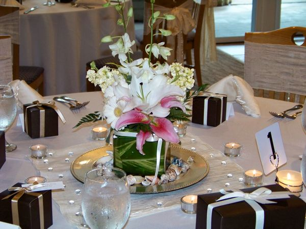 34 best wedding table centerpieces images on pinterest wedding centerpiece for modern table decorations junglespirit Image collections