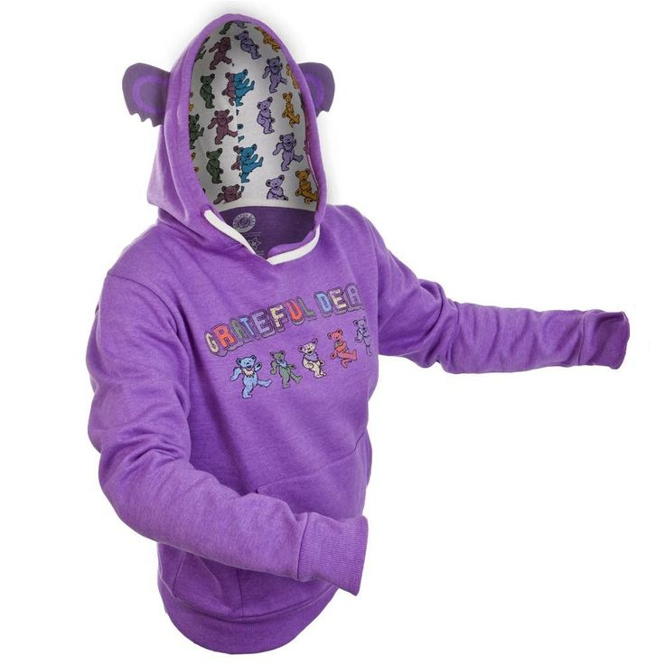Grateful Dead - Dancing Bear Juniors Costume Hoodie