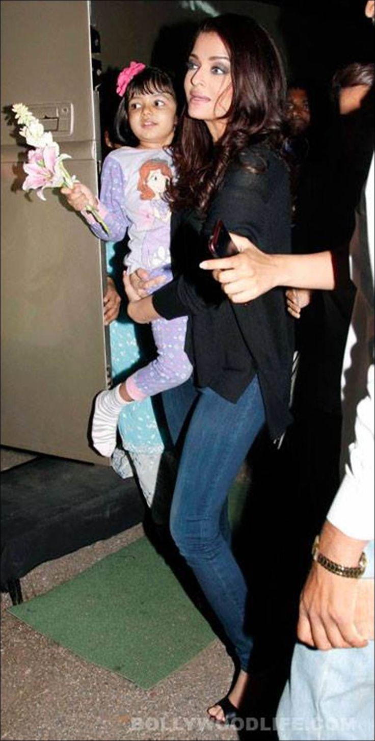 Aishwarya Rai Bachchan leaves for Punjab with daughter Aaradhya and mother Brinda