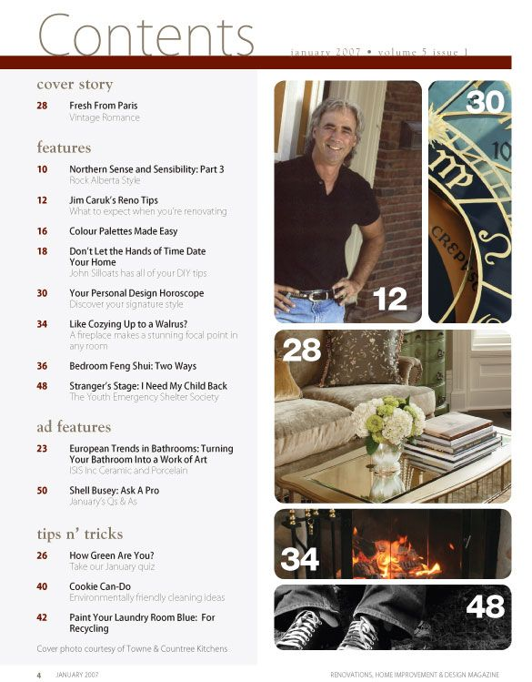 magazine template indesign