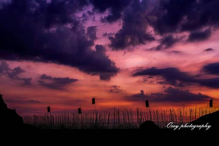 Anawangin cove #sunset #Philippines