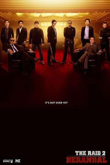 The Raid 2: Berandal (2014), película de acción que se estrenara en USA el 28 de Marzo del 2014
