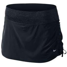 #Nike skirt stretch woven zwart dames bij Hardloopaanbiedingen.nl #hardlopen#hardlooprokje