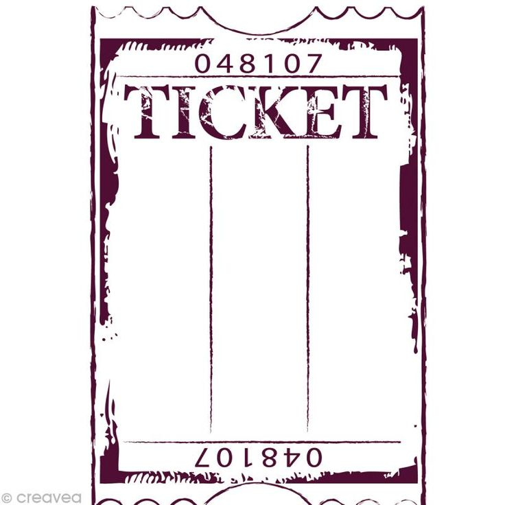 19 best tickets images on Pinterest Raffle tickets, Free - admit one ticket template