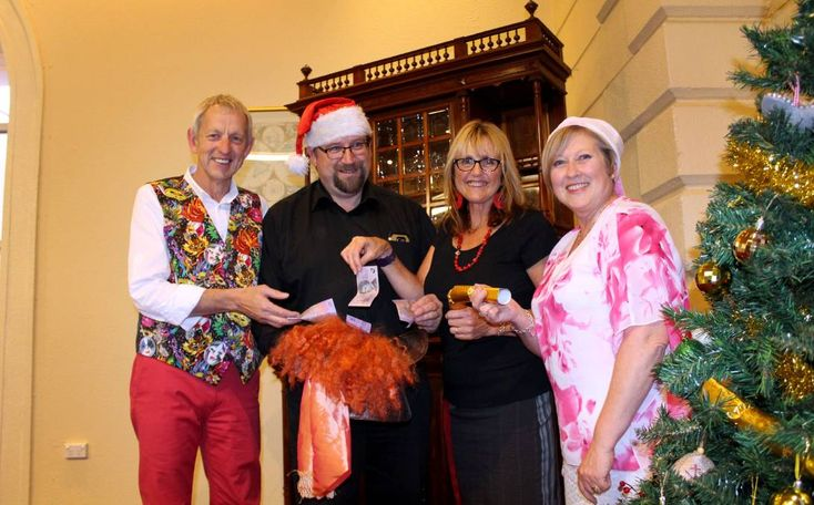 A Rotary Club called on members to dig deep for The Examiner's Empty Stocking appeal.