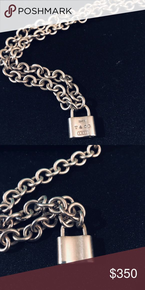 840532197 Authentic tiffany and co. Padlock necklace in 2019 | Poshmark Luxury |  Padlock necklace, Tiffany, co, Tiffany