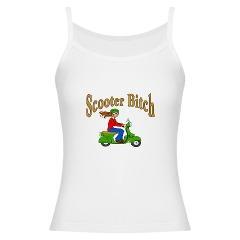 Scooter Bitch Jr. Spaghetti Tank> Scooter Bitch> New Orleans Fig Street Studio