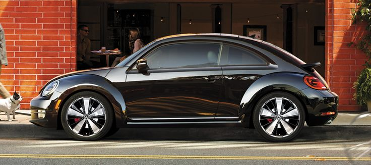 """Didn't like the older """"new"""" beetle, but I am loving the NEW new beetle. Somehow it blends old and new perfectly for me. Uh ooooh"""