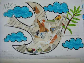 Λουλουδοπαρέα : Το περιστέρι της Ειρήνης!!!!