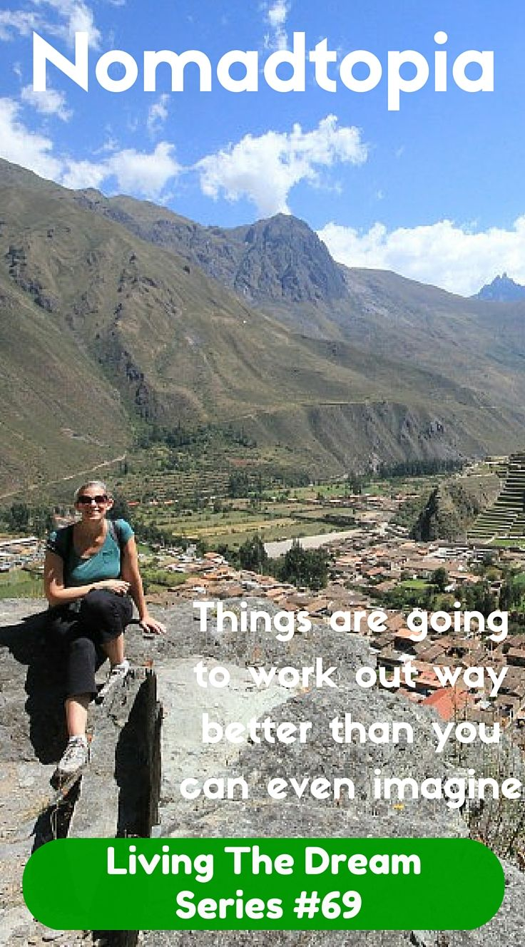 Amy quiet her job to take a nine month solo trip around the world. When it ended she didn't want to so she set herself up as a freelance editor to continue Living The Dream.