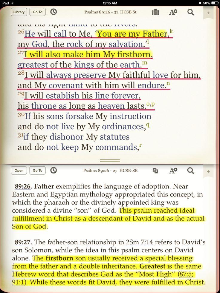 A Study Of PSALM 1 - Absolute Bible Study