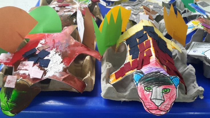 Felt mosaic lions. The children thoroughly enjoyed decorating their lions with pastel or paint and then pasting on felt blocks, I had cut to size for them.