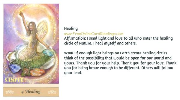 Free Online Oracle Card Readings-Messages From The Wee Folk Cards By Psychic Medium Jennifer A Murphy