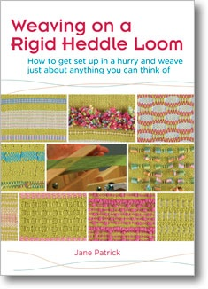 This book and DVD set is a NECESSITY if you want to learn how to weave on a rigid heddle loom. This and YouTube.