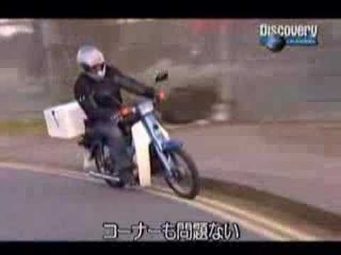 Honda Cub is the number one motorcycle in the world