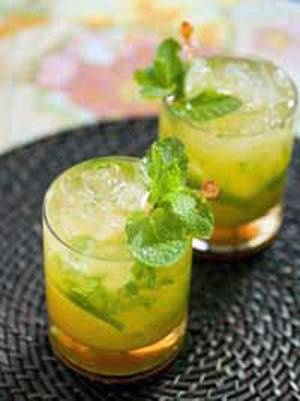 Alcoholic Cocktail Mojito Orange