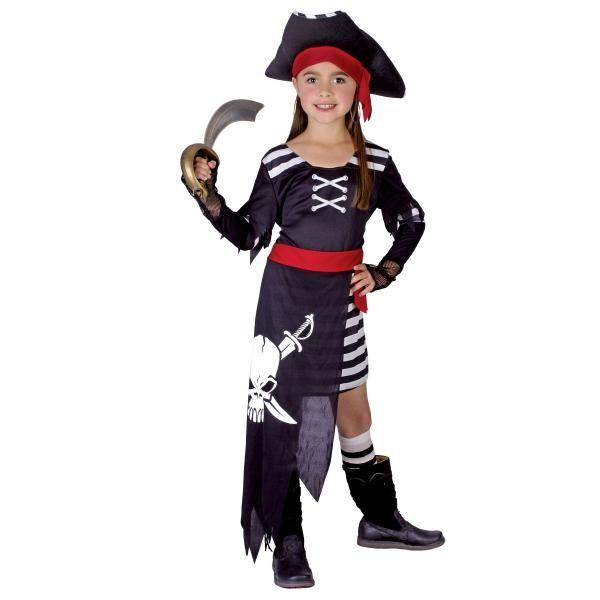 Karnevalový kostým Pirátka, 110-120 cm - Casallia