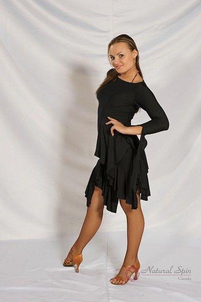 Natural Spin Dancewear Tango Dancewear:  L018ST