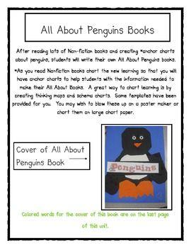 Penguins Math and Literacy Fun