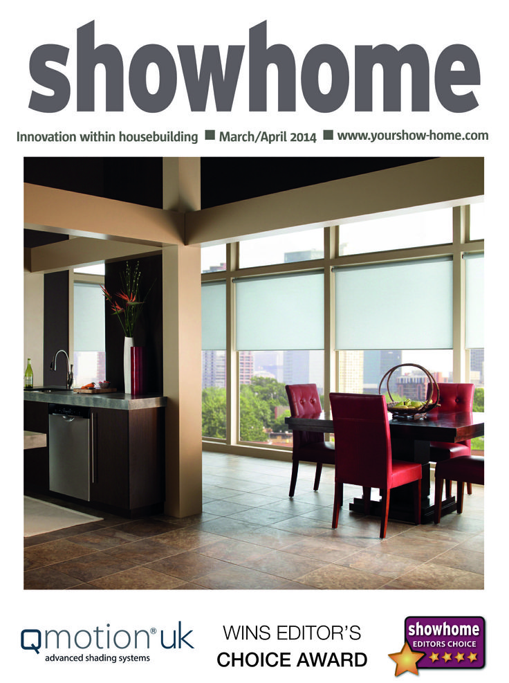 QMotion UK featured in Showhome magazine