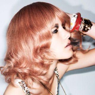 Peach-Pink #hair