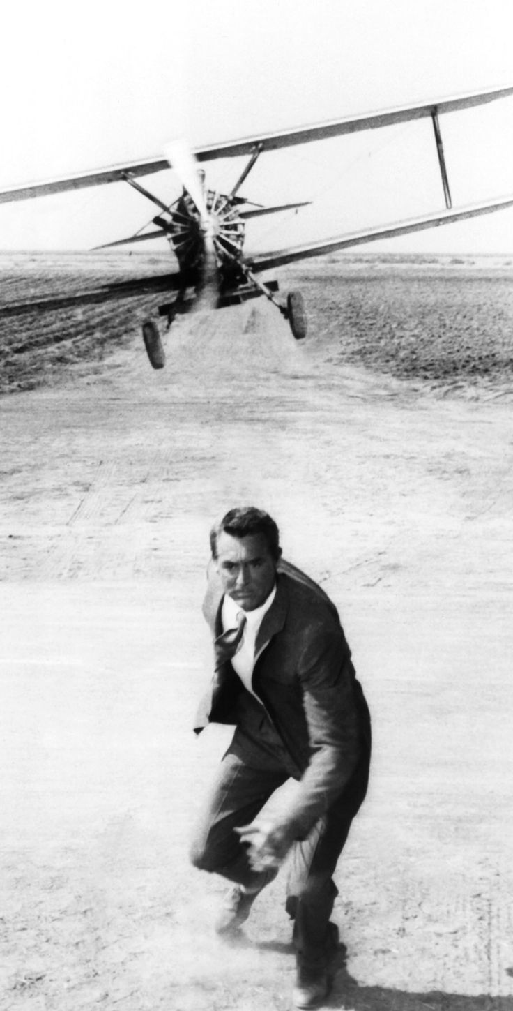 Cary Grant in North by Northwest  | I would love to have this as An ixxi