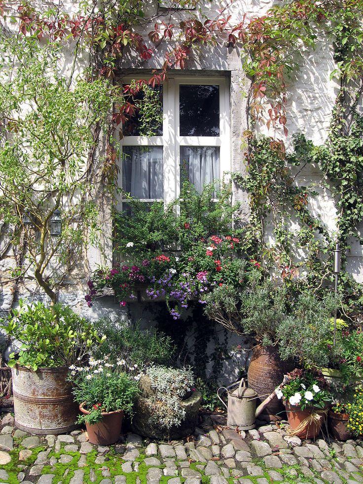 Les 25 meilleures id es de la cat gorie jardins de cottage for Modele de jardin anglais