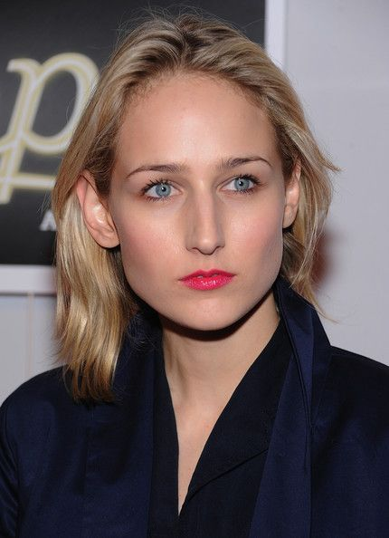 Leelee Sobieski Medium Layered Cut  Leelee Sobieski attended the Shops at Target launch wearing her hair in a subtly layered style.