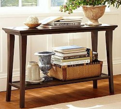 Pottery Barn Console Table for the Warm House