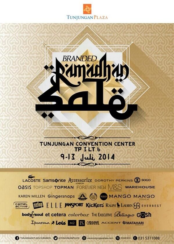 Tunjungan Plaza: Branded Ramadhan Sale
