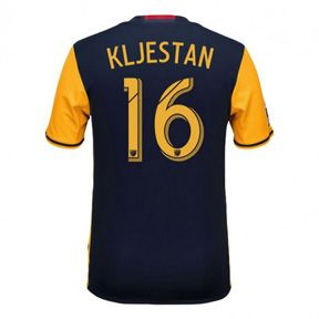 adidas Youth NY Red Bulls Kljestan #16 Soccer Jersey (Away 16/17): http://www.soccerevolution.com/store/products/ADI_40947_A.php
