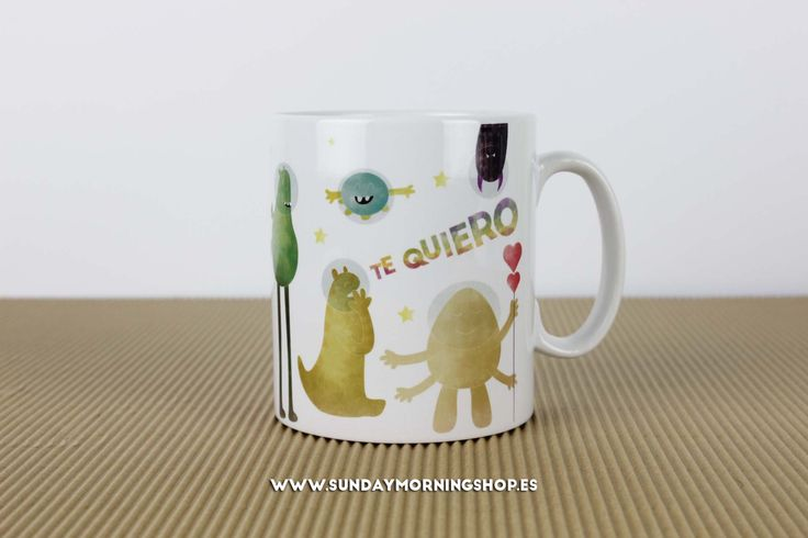 "Taza ""Nuestro amor no es de este mundo"" – Sunday Morning Shop"