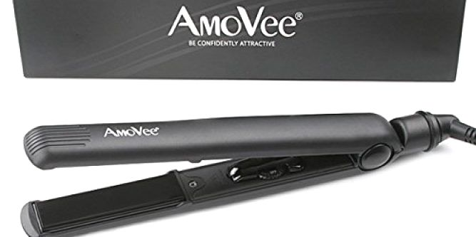 Amoveepro Dial Flat Iron With Ceramic Plates 1 Inch Ceramictourmaline Ionic Hair Straightener Luxurious Hair Ceramic Flat Iron Hair Straightener Hair Beauty