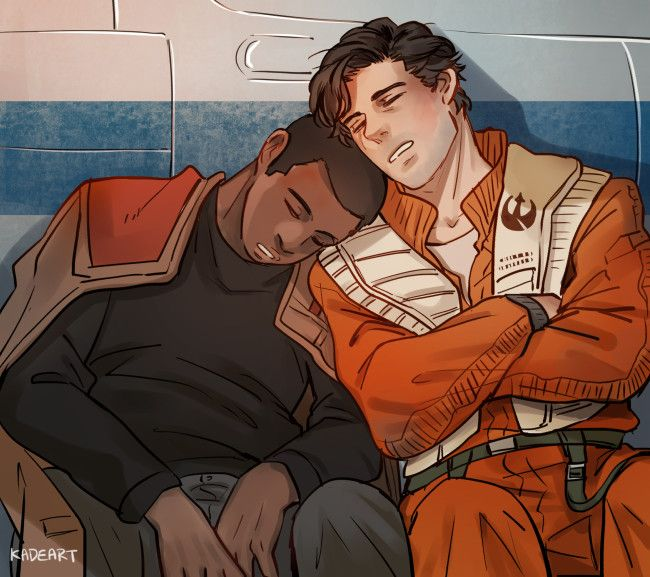 I ship these two like nobody's business. (art by kadeart on tumblr.)