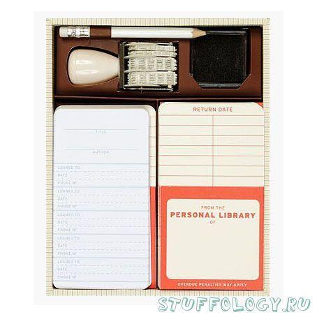 Набор: Моя личная библиотека (Personal Library Kit)   #books #bookworm #gifts  #bookish
