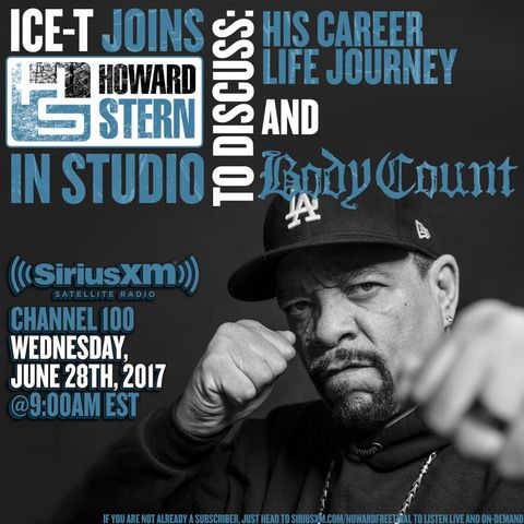 Ice-T and Body Count to Chronicle Life Story and Career on The Howard Stern Show